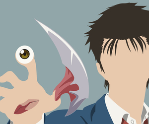 anime and parasyte image