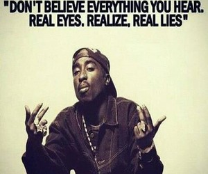 2pac, quote, and trust image
