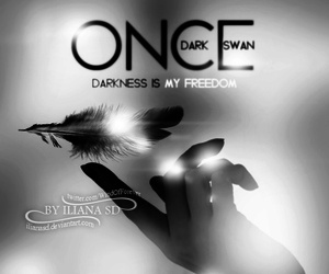 dark, once upon a time, and ️ouat image