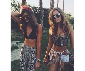 coachella, model, and summer image