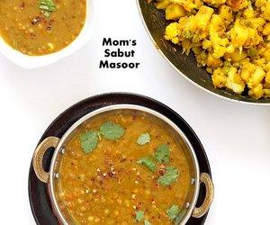 food, indian food, and lentil image