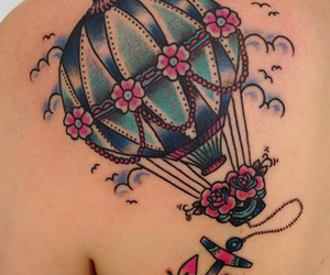 tattoo and balloon image