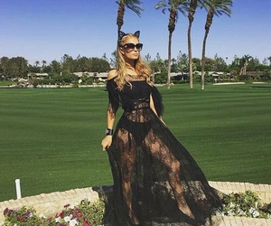 coachella, paris hilton, and festival image
