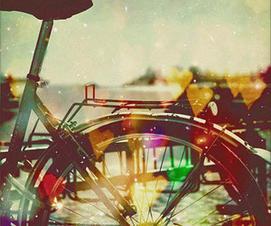 bicycle and colours image
