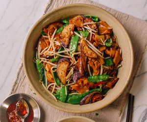 chinese, chinese food, and eggplant image