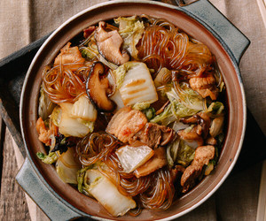 cabbage, chinese, and chinese food image