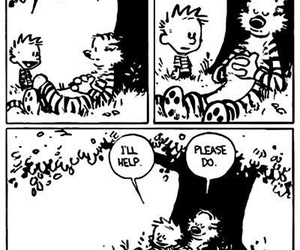 calvin and hobbes and comic image