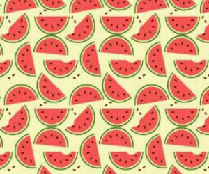pattern, wallpaper, and watermelons image