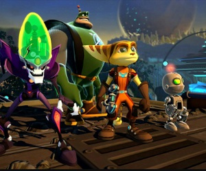 game, ps4, and ratchet and clank image
