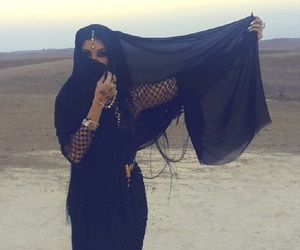 arab, beauty, and dessert image