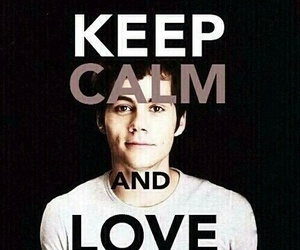 dylan o'brien, teen wolf, and keep calm image