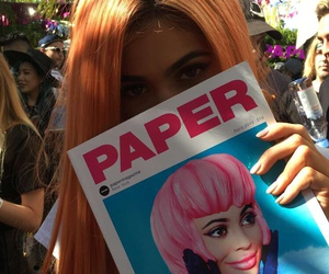 kylie jenner, coachella, and magazine image