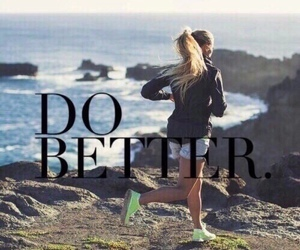 fitness, run, and fit image