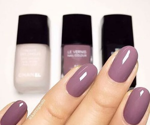 nails, beauty, and color image