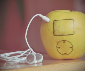 apple, ipod, and music image