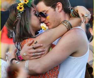 love, couple, and coachella image