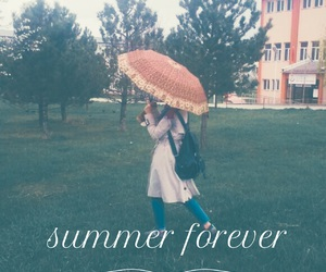 forever, summer, and rain image