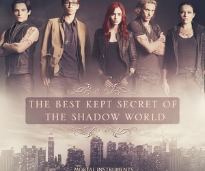 clary fray, shadowhunters, and jace image