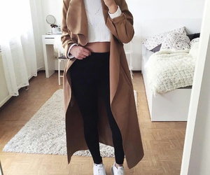 brown, Smarty, and coat image