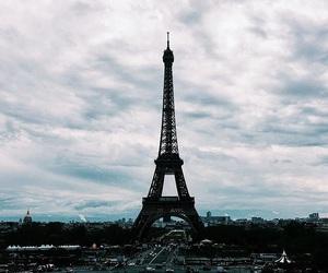 rain and paris image
