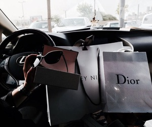 dior, luxury, and car image