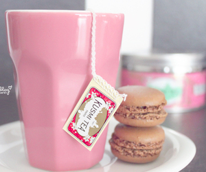 drink, healthy, and macaron image