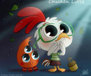 disney, chicken little, and chibi image