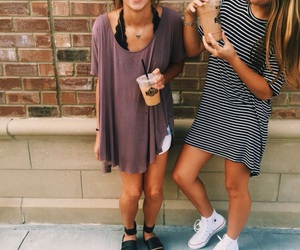 outfit, best friends, and friends image