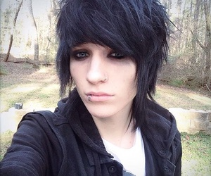 johnnie guilbert, piercing, and my digital escape image