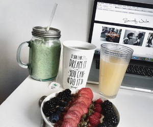 FRUiTS, smoothie, and yummy image