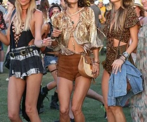 accessories, clothing, and coachella image