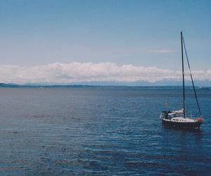 beautiful, boat, and sea image