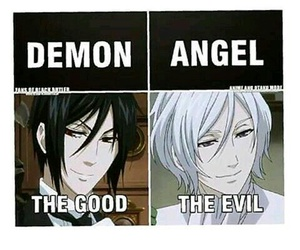 anime and black butler image