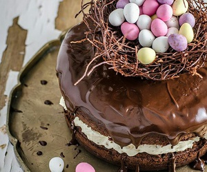 easter, cake, and chocolate image