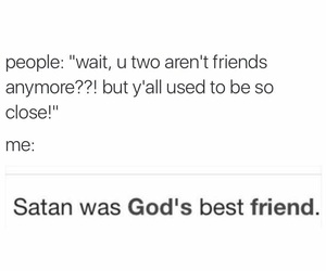 best friend, friend, and god image
