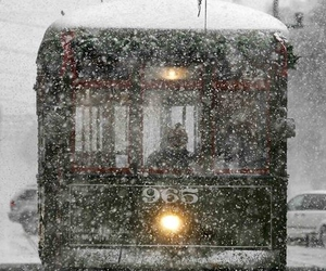 new orleans, snow, and train image