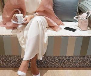 Dubai, style, and abaya image