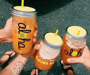 drink, Aloha, and summer image