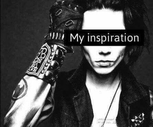 andy biersack, black and white, and inspiration image