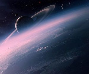 earth, galaxy, and lua image