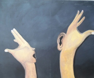 hands, oil, and on image