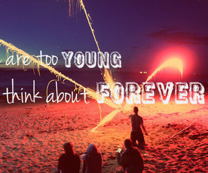 boys, Forever Young, and girls image