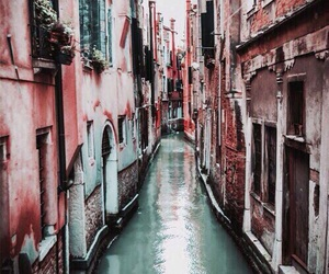 pink, travel, and teal image