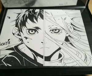 anime, comics, and drawing image