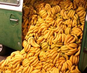 banana, yellow, and food image
