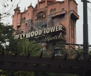 disney, Hollywood Tower Hotel, and memories image