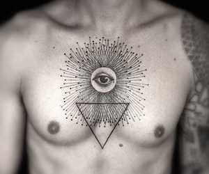 black, ink, and Tattoos image