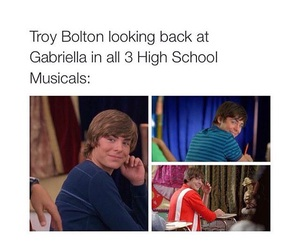 high school musical, zac efron, and love image