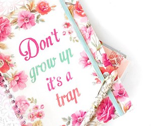 girly and quote image