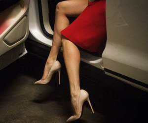 fashion, car, and legs image